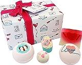 Tarro de corazones hechos a mano de Bomb Cosmetics, paquete para regalo