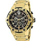 Invicta Men's Subaqua Black Steel Bracelet & Case Quartz Analog Watch 27302