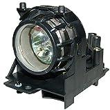 Supermait 78-6969-9693-9 78696996939 Lampe ampoule bulbe de projecteur de remplacement avec boîtier Compatible avec 3M H10 / S10