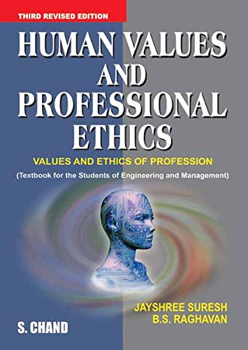 Ethics professional values human ebook and