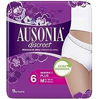 Ausonia Discreet, Compresas para pérdidas de orina, plus M, para vejigas hiperactivas x 9