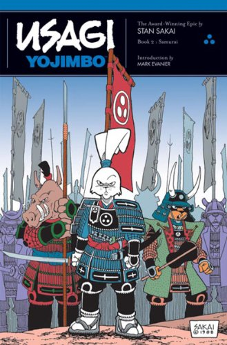 Usagi Yojimbo Book 2 Soft