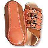 Classic Equine Leder Splint-Boots, braun