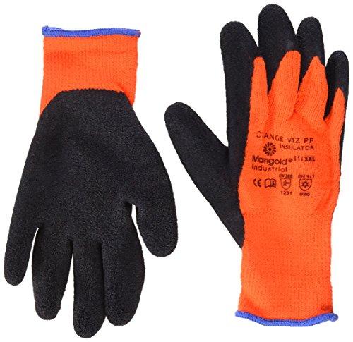 Ansell Viz PF Insulator Orange Gants pour usage spécifique, protection mécanique, Noir, Taille 11 (Sachet de 6 paires)
