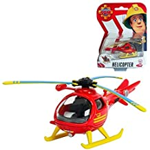 Sam El Bombero - Mini De Metal Serie - Servicio De Rescate De Montaña Helicóptero Helicóptero