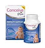Conceive Plus Men Fertility Supplement Pills, Drive Testosterone and Healthy Sperm Volume, Zinc
