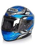Shoei Helm NXR Rumpus , TC-2 blau-grau-schwarz, L
