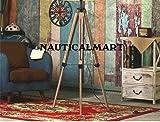 Nauticalmart Marien Designer Royal Nautisches Stativ Stehlampe Moderner Teak Holz Stativ Lampe Ständer
