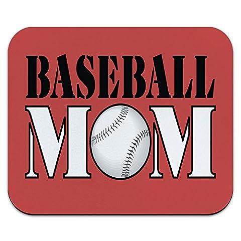 Baseball Mom Team Sports Mouse Pad Tapis de souris