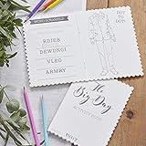 Ginger Ray Kids Wedding Entertainment Activity Books X 5 Pack - Beautiful Botanics