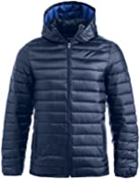 Arkansas. Mens Down Feel Jacket. Lightweight quilted jacket with detachable hood. S-3XL