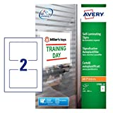 Best Avery Laminatings - Avery L7086-10 Self-Adhesive Removable Self-Laminating Signs, 2 signs Review