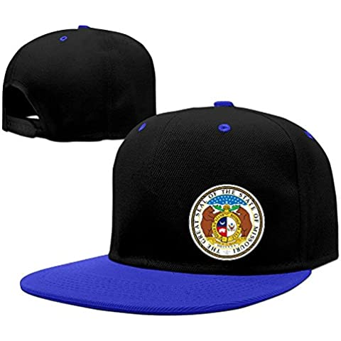 Seal Of Missouri Cotton Adult Hip-hop Hat Baseball Cap