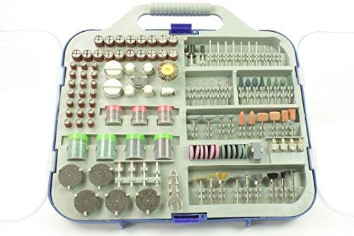 Mini Tool Bohrmaschine Drill Zubehör Set Sortiment 249tl Schleifer Bohrer Fräser, Schleif- und Polierset, 249tlg.