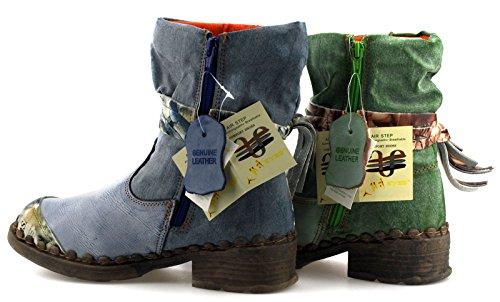 TMA 5050 Damenschuhe Winter Boots Stiefeletten Warmfutter Weiß / Creme