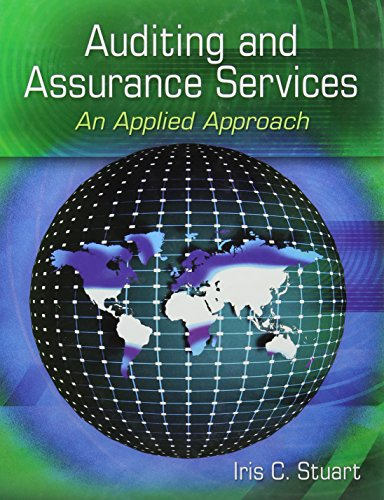 Auditing and Assurance Services: An Applied Approach