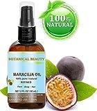 Maracuja Öl. 100% reine/natürliche. Kaltgepresste/unverwässert - 60ml. Für Gesicht, Haare und Körper.