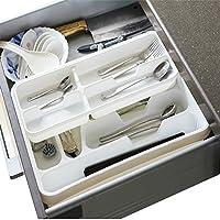 2-tier Utility cassetti della cucina posate Utensile