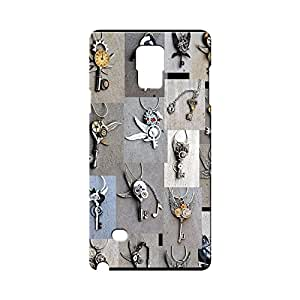 BLUEDIO Designer Printed Back case cover for Samsung Galaxy Note 4 - G7260