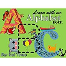 Learn with me ABCs Alphabet Book: First words (First words for kids Book 1) (English Edition)