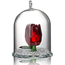 H&D Adorno de cristal, diseño con figura dentro de una cúpula, ideal como regalo