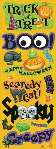K&Company Tim Coffey Halloween Adhesive Chipboard by K&Company