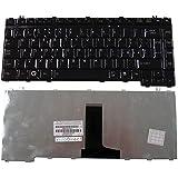 Teclado italiano QWERTY Negro para ordenador portátil Toshiba Satellite A200A205A210A215A300A305L200L205L300L300D L305L305D L310L310D L450L450D L455L455D M500M505M505D–Visiodirect -