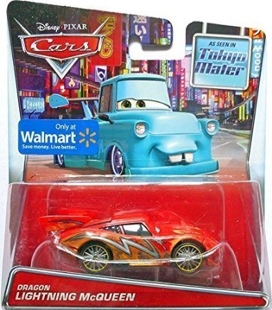 Image of Disney Cars Dragon Lightning McQueen 1:55 Diecast Car