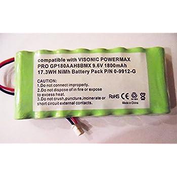 Panneau de commande d'alarme Visonic PowerMax Pro 9.6V 1800mAh batterie P/N 0–gp220aah8gp180aah8bmx