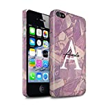 eSwish Personnalisé Mode Marbre Pierre Coutume Brillant Coque pour Apple iPhone 4/4S...