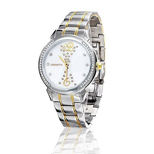 womens-316l-stainless-steel-luxury-diamond-natural-shell-quartz-watches-by-dormithr-plated-gold