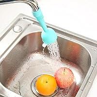 TAOtTAO Grifo de cocina para ducha con filtro antisalpicaduras y cabezal de ahorro de agua,