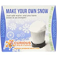 Funtime Curious Creations instantánea nieve, color blanco