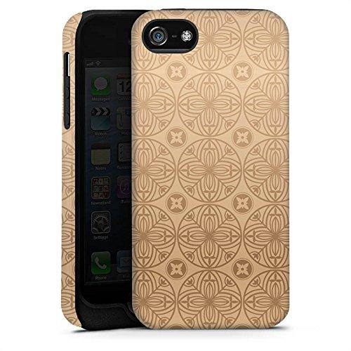 Apple iPhone X Silikon Hülle Case Schutzhülle Blume Flower Muster Tough Case matt