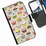 Hairyworm- Kuchen Seiten Leder-Schützhülle für das Handy Motorola Moto G