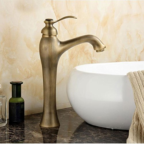 Furesnts Modern Home Kitchen And Bathroom Sink Taps European Retro All Copper Hot And Cold Kitchen Sink Basin