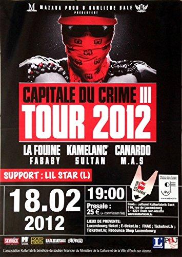 Die Steinmarder–Hauptstadt des Verbrechen–70x 100cm zeigt/Poster