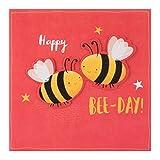 """Hallmark Geburtstagskarte """"Bee Day""""–mittelgroß"""