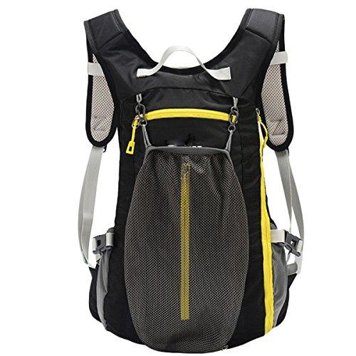GAOLIXIA Leichte Outdoor-Rucksack Wasserabweisend Wandern Radfahren Sport Freizeit Reisen Bergsteigen Taschen Männer Frauen A