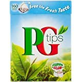 PG Tips Pyramid Teabags 160s 500g