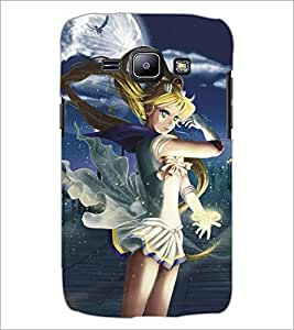 PRINTSWAG ANGEL GIRL Designer Back Cover Case for SAMSUNG GALAXY J1