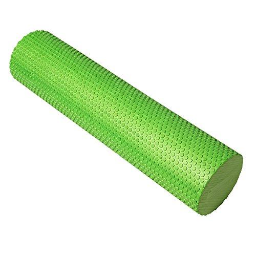 Kylin Sport Yoga Schaumstoff Roller Hohe Dichte mulscle Roller TRIGGER POINT für für Deep Tissue Massage und myofaszialer Release in Fitness, Übung, Yoga, Pilates, Core Workout, Fitness, Green (90 cm)