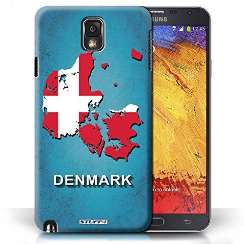 Kobalt® Imprimé Etui / Coque pour Samsung Galaxy Note 3 / Australie conception / Série Drapeau Pays Danemark/Danoise