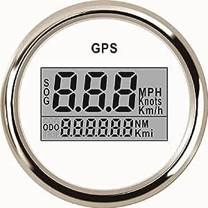 Eling Universal Digital Gps Tachometer Tachometer Für Auto Motorrad Lkw Yacht Schiff 52mm 9 32v Auto
