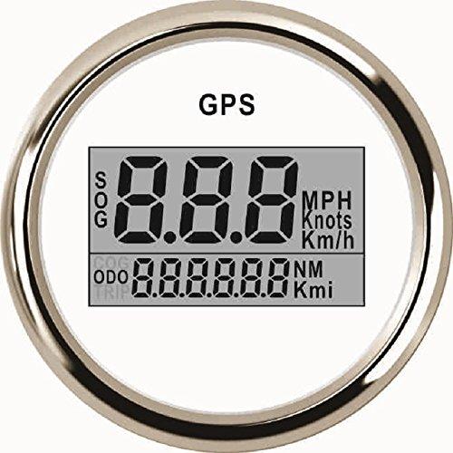 Digitale GPS Tachometer Speedo Gauge für Auto Motorrad Truck Yacht Schiff 5,1cm (52mm) 9–32V