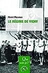 Le régime de Vichy par Rousso