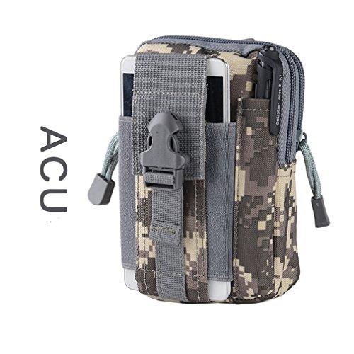 ALAIX Outdoor Reisen praktische Hüfttasche Taktische MOLLE EDC Beutel Handytasche Bauchtasche CACU