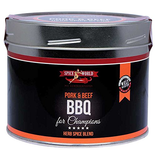 Spiceworld Barbecue for Champions PORK & BEEF Herb Spice Blend (550ml)