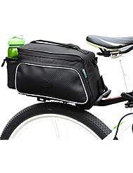 ROSWHEEL Multifonction Sac Sacoche de Selle Arrière Case Carry Bag Pouch Pochette Vélo VTT Bike Cycling Pour Cyclisme, Voyage, Sport 10L CS079