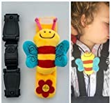 Buggy Buddy CAR SEAT Chest Clip, Anti-Escape System Safety Strap to Stop Your Little escapees Taking Their arms Out of The Harness with Escape-me-not. Safer Journeys-Less Stress